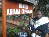 Magret-&-Sons-at-Nairobi-Animal-Orphanage